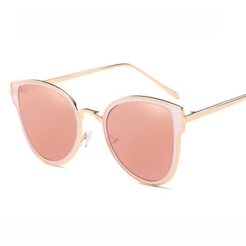 Round Hollow Out Sunglasses