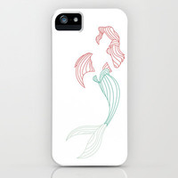 Ariel Little Mermaid iPhone & iPod Case by DanielBergerDesign