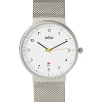 Braun x Dieter Rams - BN0032 Stainless Steel Watch | MR PORTER