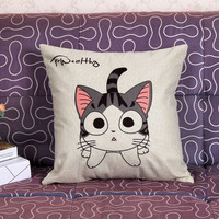 Cat Show Cushion Cover