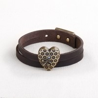 Story Heart Bracelet - Queen Bee