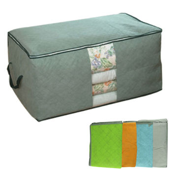 Top Grand Amazing 4 Colors Foldable Clothing Organizer Clothing Storage Box for Blanket Pillow Underbed Bedding Free Shipping