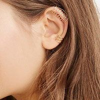 Caged Ear Cuff Set
