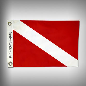 Dive Down Flag - Marine Grade - Boat Flag - Dive Flag