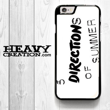 5 Directions Of Summer for iPhone 4 4S 5 5S 5C 6 6 Plus , iPod Touch 4 5  , Samsung Galaxy S3 S4 S5 S6 S6 Edge Note 3 Note 4 , and HTC One X M7 M8 Case