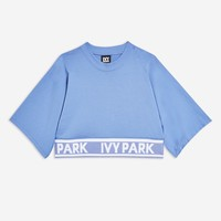 Knitted Logo Crop T-Shirt | Topshop