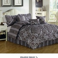 7 Piece Queen Lorrain Comforter Set