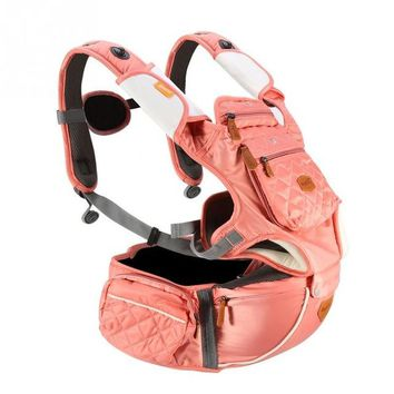 Toddler Backpack class Baby Carrier Hipseat Sling Front Facing Baby Carriers Adjustable Infant Sling Backpack Pouch Breathable Toddler Wrap Sling AT_50_3