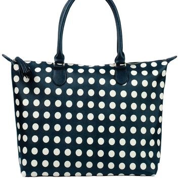Toss Madrid Travel Tote - Black /Cream