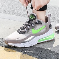 NIKE AIR MAX 270 REACT Fashion New Hook Sports Leisure Running Shoes Men Gray