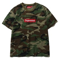 Cheap Women's and men's supreme t shirt for sale 85902898_0160