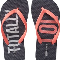 Girls Printed Flip-Flops