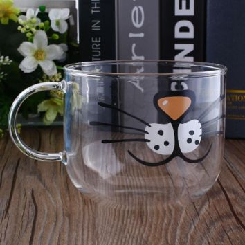 Clear Cat Coffee Mug