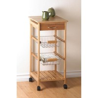 Attractive Osaka Rolling Kitchen Cart