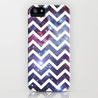 Nebula Chevron iPhone Case by Rex Lambo | Society6