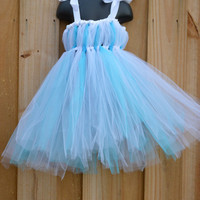 Winter Wonderland Dress/Flower Girl Dress/Elsa Dress