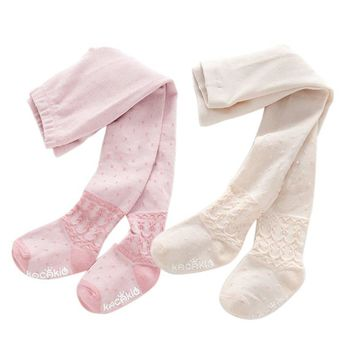 Toddlers Girls Stockings Soft Cotton Tights Baby Warm Pantyhose Children Stocking Baby Pantyhose tights for girls