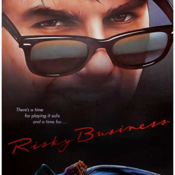 Risky Business Tom Cruise Movie Poster 11x17