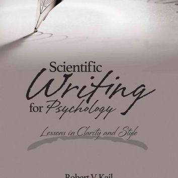 Scientific Writing for Psychology: Lessons in Clarity and Style