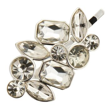 New Arrival Silver Plated Women/Girls Luxury Gem Hair Clip Fashion Jewelry F20161