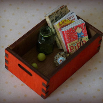 Storage box for the dolls, doll house \ size 1/6, 1/4, 1/3. SD, MSD, YOSD bjd\