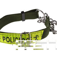 Adjustable Working/Police Dog Nylon Neck Belt Strap