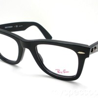 New Ray Ban Wayfarer 5121 2000 Black New Frames Authentic