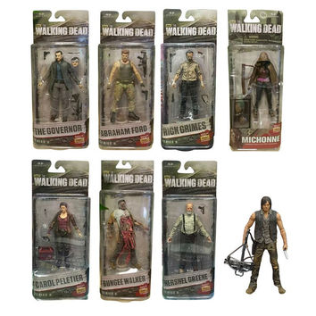 AMC Movie TV Series The Walking Dead Garage Kid Rick Grimes Andrew Lincoln model Toy 15cm 6inch Action Figure Collection