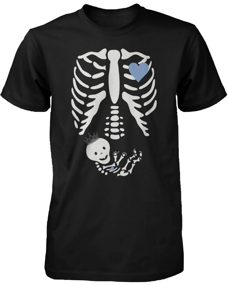 d471b5800be9c Halloween Pregnant Skeleton Prince Baby X-Ray T-shirt Maternity Themed.  $14.99 from 365 Printing Inc