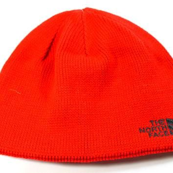 The North Face Unisex Bones TNF Red Beanie Hat One Size