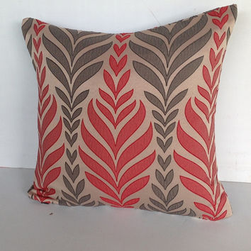 Gifts for her, Decorative Pillow Cover, Red Pillow Cover, Gifts, Spring Decor, House warming Gifts, Summer Decor, Gifts