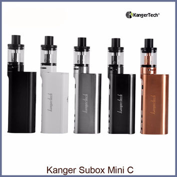 Kanger Subox Mini C Starter Kit 50w with Kangertech Kbox Mini-C Mod Box and Protank 5 Atomizer Electronic Cigarette Vape Kit