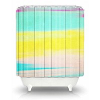 Artistic Shower Curtain | Rachel Burbee | Skies The Limit II | Dianoche Designs