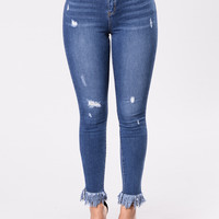 Perfect Ending Jeans - Medium Wash