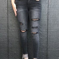 Phenoix Destroyed Denim Jeans