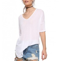 Lush Chillin' Out Tunic Tee Shirt