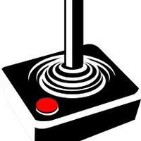 Retro Atari Joystick Cross Stitch Pattern | Los Angeles Needlework