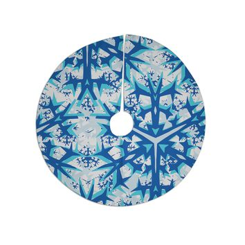 "Miranda Mol ""Winter Mountains"" Tree Skirt"