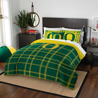 Oregon Ducks NCAA Full Comforter Set (Soft & Cozy) (76 x 86)