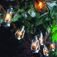 10 LED Lantern Lights (Battery-Operated)