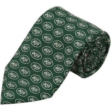 Vineyard Vines New York Jets Mini Logo Silk Tie - Green
