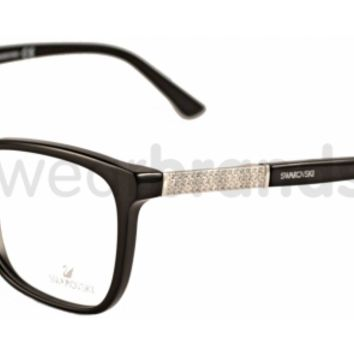 Swarovski 5117 Elina 001 Black Glasses | Eyewear Brands