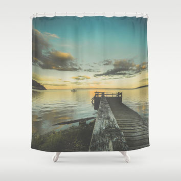 Dating Alice in wonderland Shower Curtain by HappyMelvin | Society6
