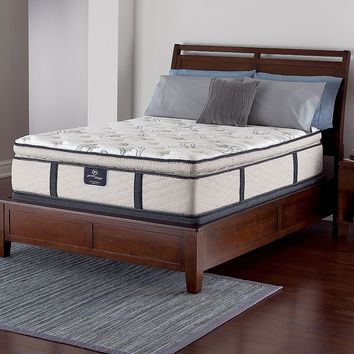 Serta Perfect Sleeper Beckford Super Pillow Top Innerspring Mattress - King (White)