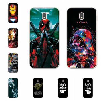 Deadpool Dead pool Taco Charming  Cases For Samsung Galaxy J7 2017 iron Man Phone Case Capa For Samsung J7 2017 j730F (EU Version) Back Cover AT_70_6