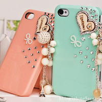 cute iphone 5s case,rhinestone iphone 5c case, unique iphone 5 case, bling iphone 4s case, samsung galaxy s4 case, rhinestone samsung case