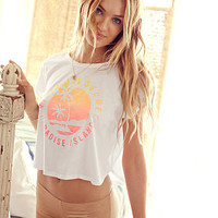 Slouchy Crop Tee - Victoria's Secret