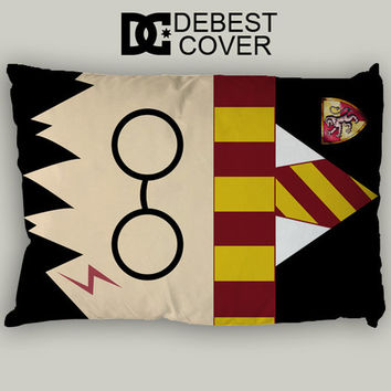 Harry Potter Pattern Pillow Case In 20 x 30 Inches