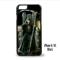 Grim Reaper Goth Emo for iPhone 6, iPhone 6s, iPhone 6 Plus, iPhone 6s Plus Case