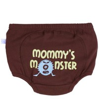 RuggedButts.com - Brown 'Mommy Monster' Diaper Cover